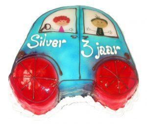 auto met poppetjes