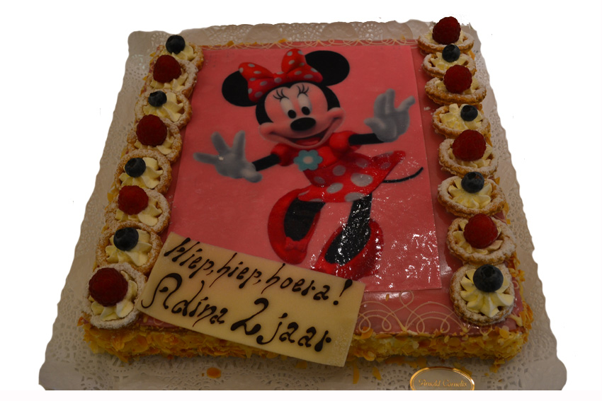 taart mathilde met copy minnie mouse