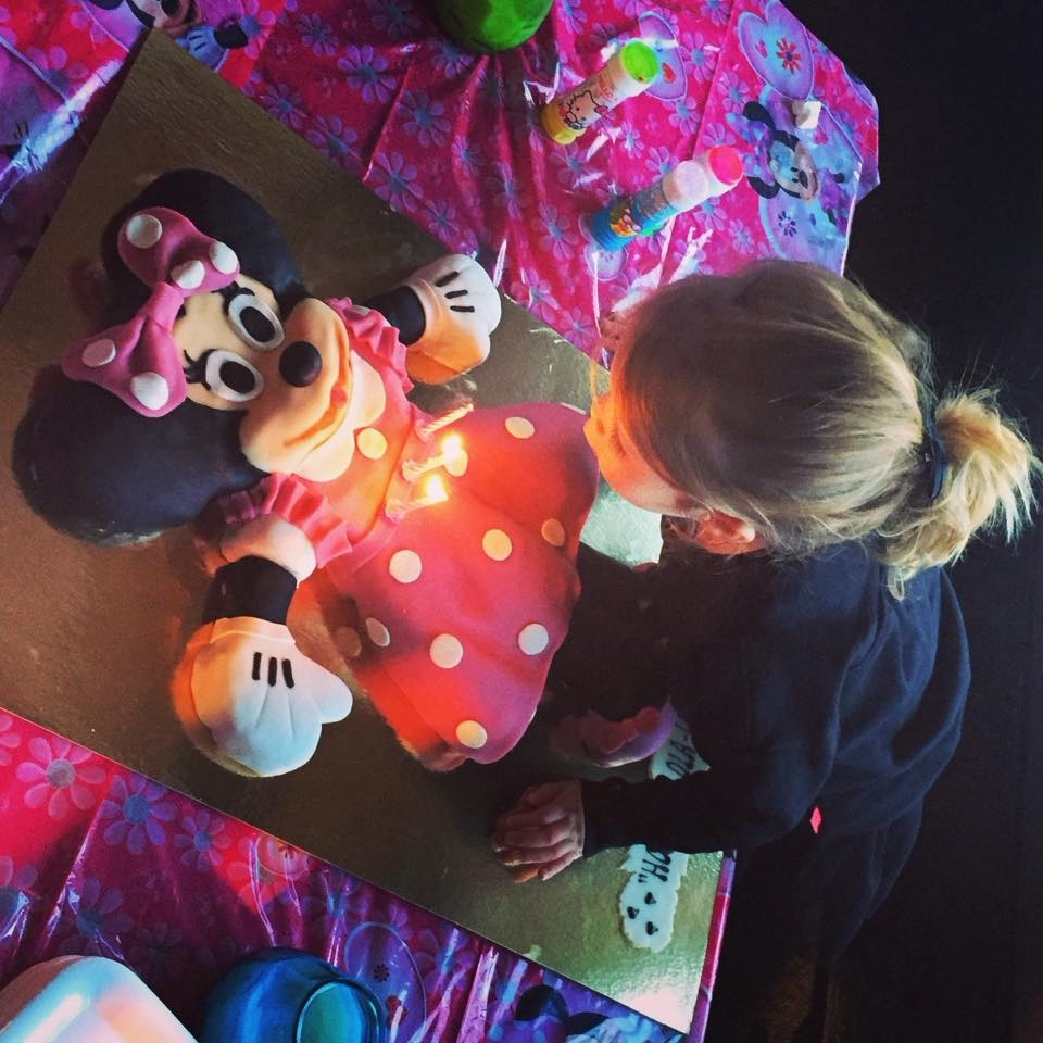 taart minnie mouse loly-lily van dam