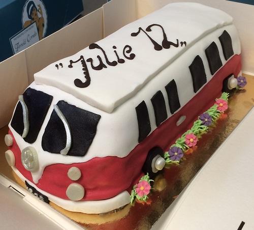 taart vw bus