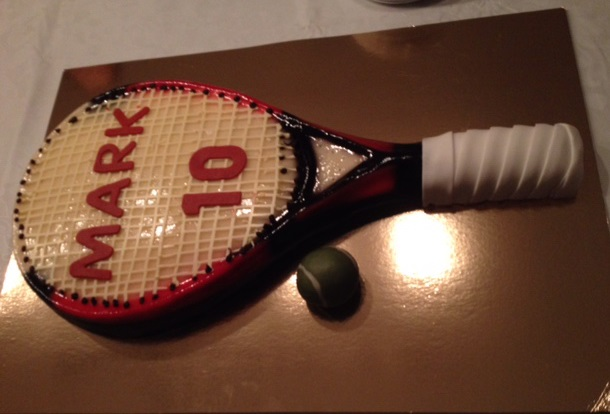 tennisracket mark 10